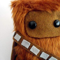 Star Wars Chewbacca Fur Ooak 15cm by peludossa on Etsy