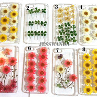Iphone 5 case Real Flower Floral Rose Iphone 5s case by Jesswanda