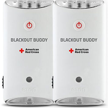 The American Red Cross Blackout Buddy the emergency LED flashlight, blackout alert and nightlight, pack of 2, ARCBB200W-DBL