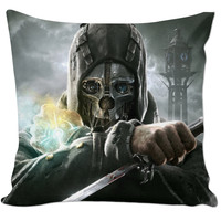 Dishonored Pillow
