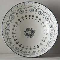 Fandoline Spindle Bowl by Anthropologie in Neutral Size: Small Bowl Bowls