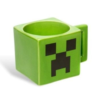 Minecraft Creeper Face Square Mug