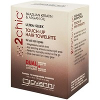 Giovanni Touch Up Hair Towelette 2Chic Ultra Sleek 10 ct