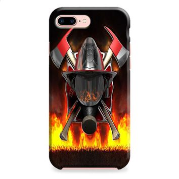 Firefighter (logo red flames) iPhone 8 | iPhone 8 Plus Case