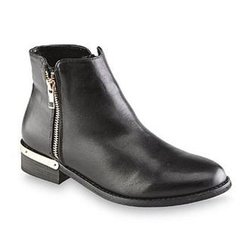 GC Shoes Women's Corrine Black High-Ankle Fashion Bootie