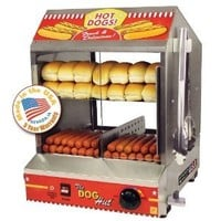 Amazon.com: The Dog Hut Hotdog Steamer and Merchandiser: Sports & Outdoors