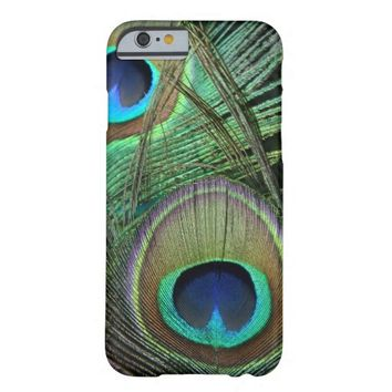 Proud Peacock Feathers iPhone 6 case