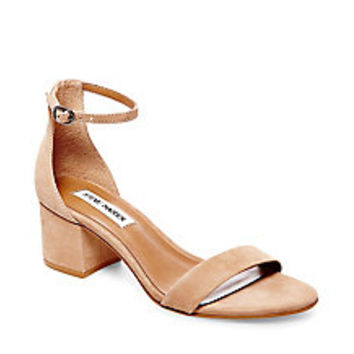 Ankle Strap with Low Block Heel | Steve Madden IRENEE