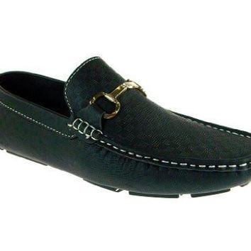 Imarc Collection Men's Clooney Horsebit Loafers