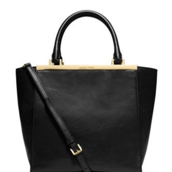 Michael Michael Kors Medium Lana Leather Shoulder Tote