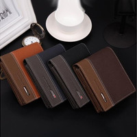 Fashion Mens Leather Bifold Money Card Holder Wallet Coin Purse Clutch Pockets With High Quality [8822144259]