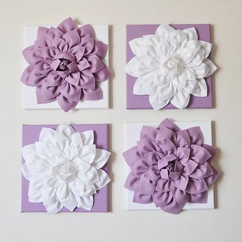 Lilac Wall Flowers