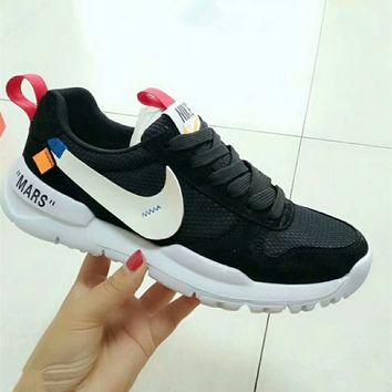 """Nike x OFF-White"" Unisex Casual Fashion Breathable Running Shoes Couple Sneakers"