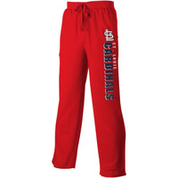 St. Louis Cardinals Pennant Solid Knit Pants – Red