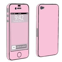 Amazon.com: Apple iPhone 4 or 4s Full Body Decal Vinyl Skin - State Pink By SkinGuardz: Cell Phones & Accessories