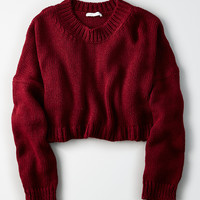Don't Ask Why Wide Arm Sweater, Berry Jam