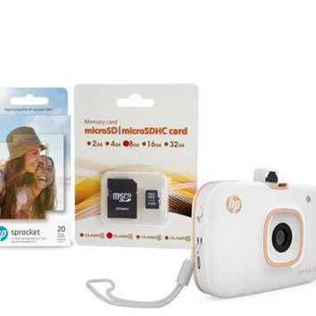 2-in-1 Portable Photo Printer & Camera