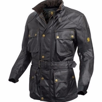 Classical Waxed Cotton Waterproof Jacket