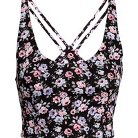 H&M Patterned Bustier $17.99