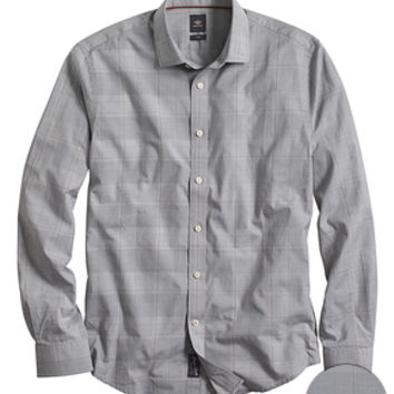 Dockers SF Poplin Shirt, Two-Ply - Burma Grey - Men's
