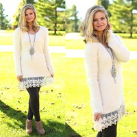 Warm & Fuzzy Sweater Dress