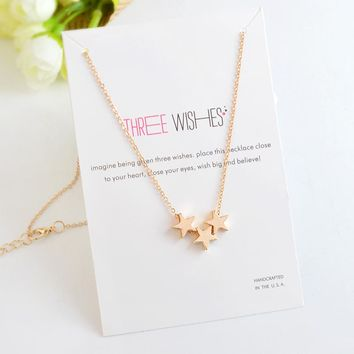 Stars Boat Anchor Triangle Palm Pendant Necklace Hollow Heart Hand Necklaces For Women Girl Men Clavicle chain Jewelry Gift