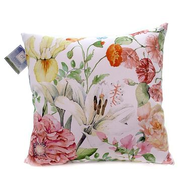 Home & Garden Sunny Floral Pillow Accent Pillow