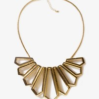 Geo Fringe Necklace | FOREVER 21 - 1023056741