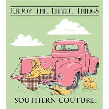 "Southern Couture ""Enjoy The Litte Things"" Tee"