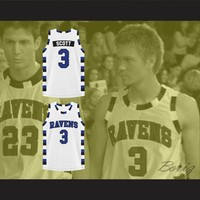Lucas Scott 3 One Tree Hill Ravens Basketball Jersey All Sewn