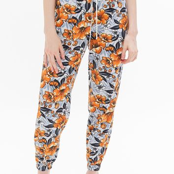 UO Zoey Printed Pull-On Jogger Pant | Urban Outfitters