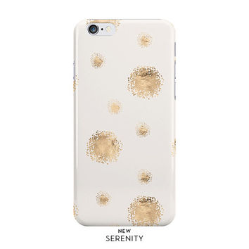 Rose Gold Dots iPhone Case, iPhone 6, iPhone 6 Plus, iPhone 5/5s, Rose Gold Dots Samsung Galaxy Case,faux rose gold, Sandy,NewSerenityStudio