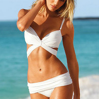 Hot Swimsuit Beach New Arrival Summer Swimwear Sexy With Steel Wire Bikini [6048196353]