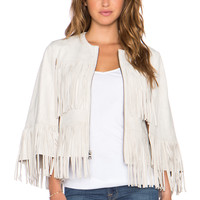 BCBGMAXAZRIA Jonah Cape in Canvas