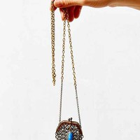 Lux Revival X Urban Renewal Victorian Mesh Bag Necklace- Assorted One