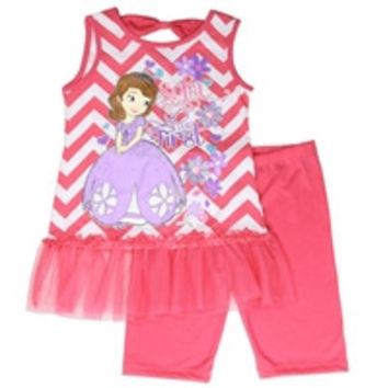 SOFIA Girls 4-6X 2PC Short-11268ps