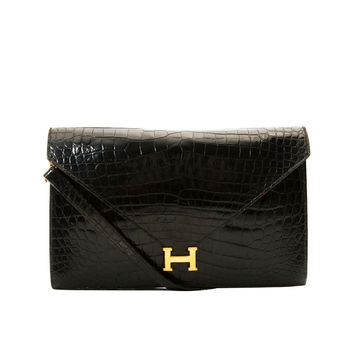 faux hermes bags - Best Vintage Crocodile Bags Products on Wanelo