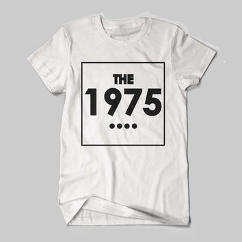 THE 1975 Indy Band UK Tour 2014 Arctic Music Logo Black and White Shirt Men or Women Shirt Unisex Size