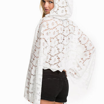 Lace Top With Hood, Rebecca Stella For Nelly