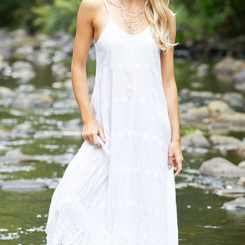 Angel Maxi Dress in White