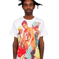 BAUSKE NYC YESTALGIA TLC Tee in Front and Back Print