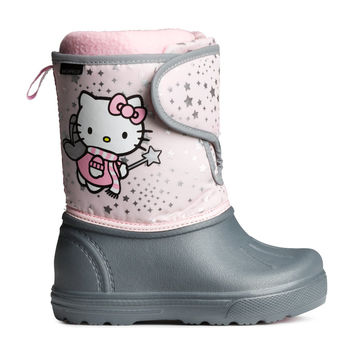 H&M - Winter Boots - Lt.pink/Hello kitty - Kids