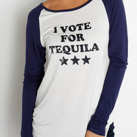 "Standard ""Vote for Tequila"" Top"