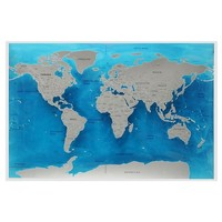 Amazing World Travel Scratch Off Map