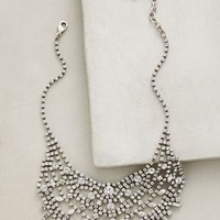 Dannijo Aizea Bib Necklace in Silver Size: One Size Necklaces