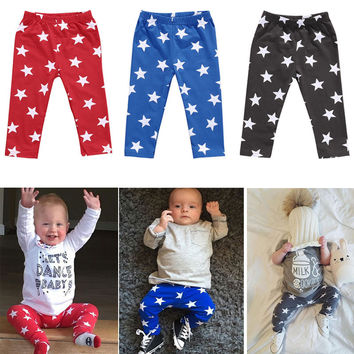 Newborn baby pants 6 12 18 24 Months PP Pants Baby Girls Boy Trousers Leggings Full Length Infant Toddlers Clothing