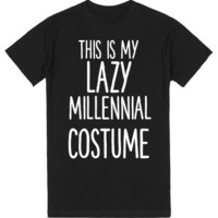 THIS IS MY LAZY MILLENIAL COSTUME