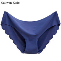 New 1pcs Women Invisible Underwear Briefs Cotton Spandex Gas Seamless Crotch Panties Hot#C