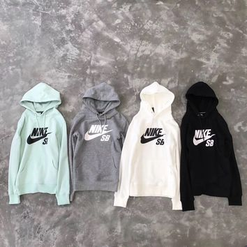 Nike SB Unisex Lover's Fashion Hooded Top Pullover Sweater Sweatshirt Hoodie
