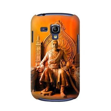 P1104 Shivaji Maharaj Comes Marathas Case For Samsung Galaxy S3 mini